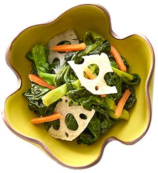 岩谷 带汁油菜花